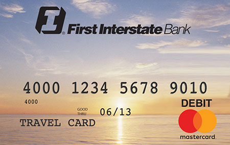 First Interstate Bank Travel Card